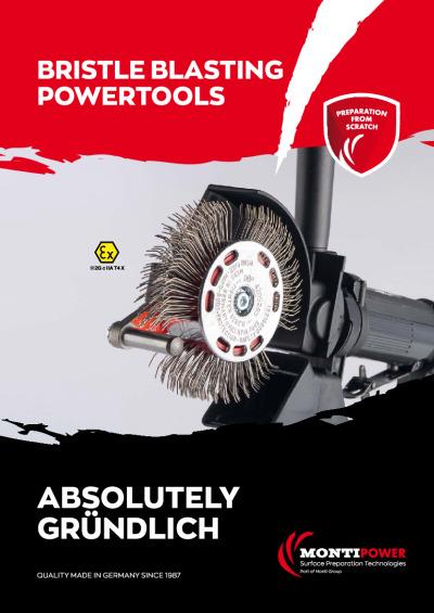 bristle blasting powertools brochure