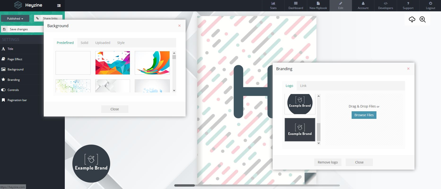 pdf customization